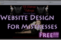 Mistress Website Design